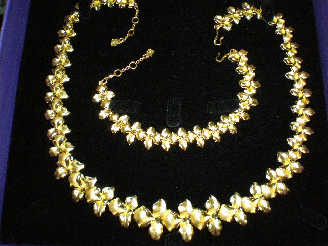 Gold Necklace Patterns